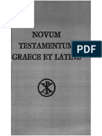 Novum Testamentum Graece et Latine - Augustinus Merk
