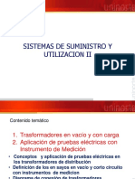 SISTEMAS DE SUMINISTRO Y UTILIZACIÓN II
