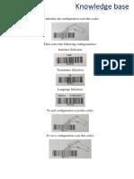Barcode Scanner Settings Setup