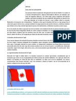 Historia de La Bandera Nacional Del Perú