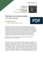 televisión and cultural studies, Turner