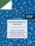 Kristan Cockerill, Melanie Armstrong, Jennifer Richter, Jordan G. Okie (Auth.) - Environmental Realism_ Challenging Solutions (2017, Palgrave Macmillan)
