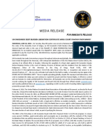 2018-06-20 ENGLISH PRESS RELEASE - UN SWISSINDO DEBT BURDEN LIBERATION CERTIFICATE WINS COURT FAVOUR OVER BANKS!