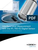 Flyer 2 Sludge Level Measurement