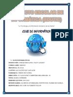 Proyecto Escolar de Informática