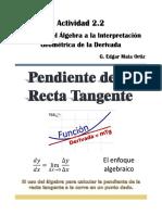 Activity 2-2 Algebraic Geo Interpretation of Derivative