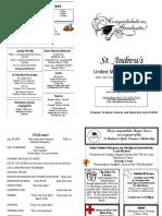 St Andrews Bulletin 062418 Graduates