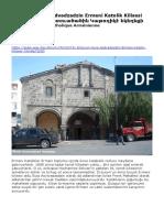 Erzurum Surp Asdvadzadzin Ermeni Katolik Kilisesi