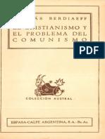 _El Cristianismo Y El Problema Del Comunismo.pdf by Berdiaev Nicolai