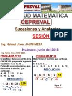 Sucesiones Analogias 2019 A