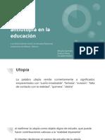 Utopía y antiutopía en la educación