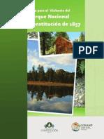Guía Para el Visitante del Parque Nacional Constitución de 1857