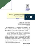Zambrana_La Retórica de Las Ciudades.descripción Del Paisaje Urbano en La Segunda Carta de Relación de Hernán Cortés