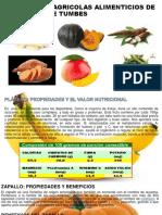 Prdocutos Agricolas Alimenticios de La Region de Tumbes Verdadero