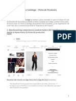 Research App Zara (User flow catálogo - producto)