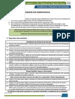 Requisitos Pension Sobrevivencia260218