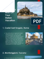 Top  Most Castles in Italy You Must Visit