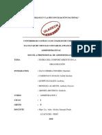 Teoría Del Comportamiento en La Organización (1)