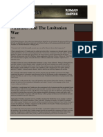 Viriathus and the Lusitanian War, By the Historian António Conde