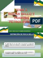 Rocas Sello y Trampas Petroliferas- Clase 15-05-13