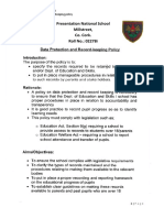 data protection and record keeping policy - pdf