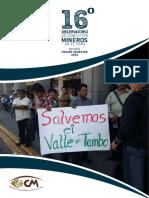 informe de Conflictos Mineros 2015