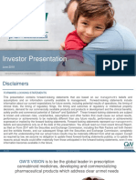 GW Investor Deck June 2018