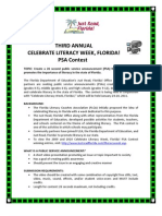 Celebrate Literacy PSA Contest Information - 2011