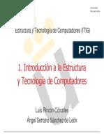 Estructura y Tecnología de Computadores