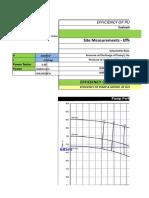 Pump Efficiency Excel