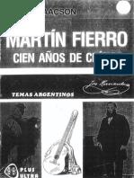 Martin Fierro Cien Años de Crítica