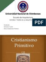 Critianismo Primitivo