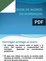 Corrosion de Aceros en Hormigon Completo