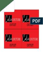 Etichetefata CCouture Outlet