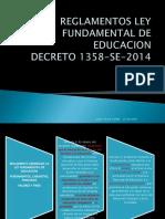 REGLAMENTOS LEY FUNDAMENTAL DE EDUCACION terminado.pdf
