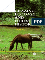Grazing Ecology and Forest History - (2000)