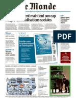 Journal Le MONDE Du 23 Mai 2018