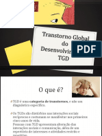 Transtorno Global Do Desenvolvimento- TGD