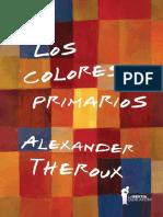 Los colores primarios - Alexander Theroux (fragmento).pdf