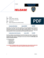 2018 MPD Press Release Independence Weekend Events