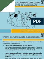 CBV CATEQUESES O Catequista Coordenador Como Construtor de Comunidade