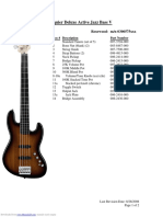 Deluxe Active Jazz Bass V