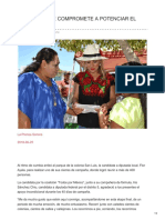 Laprensasonora.com-flor Ayala Se Compromete a Potenciar El Distrito 12