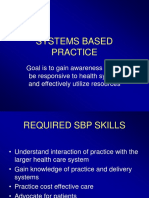 Introduction to SBP