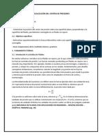 PRÁCTICA N° 1. LOCALIZACIÓN DEL CENTRO DE PRESIONES