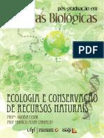 Ecologia e Conservação de Recursos Naturais