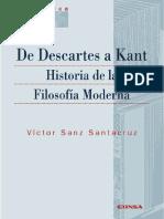 Sanz Santacruz, Víctor._De Descartes a Kant. Historia de la filosofía moderna.pdf