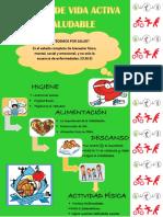 Afiche Hábitos de Vida Saludable