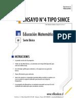 Ensayo4 Simce Matematica 6basico 2014 Forma B-1