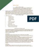 Historia de La Medicina Legal[1]